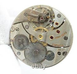 Cortebert 616 Speciale Vintage Pocket Watch Movement 15 jewels amazing condition