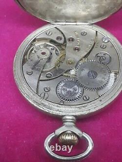 Cortebert pocket watch movement 616 very good working/rolex