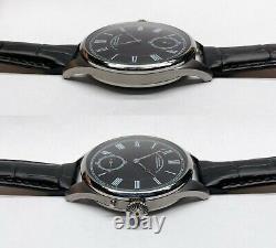 Deutsche Uhrenfabrikation GLASHUTTE Rare Classic Marriage Pocket Watch Movement