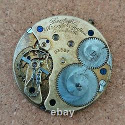 Deutsche Uhrenfabrikation Glashütte 1/SA A. Lange & Sohne Movement pocket 86587