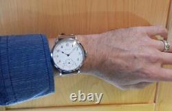 E. Howard 12s Pocket Marriage Watch Conversion 46mm SS Wrist Watch 1911 Movement