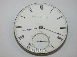 E. Howard & Co. N Size Series III Complete Pocket Watch Movement. 53G