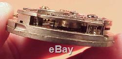 #E PARTIAL Chronograph Slide 1/4 Repeater Huguenin HighGrade MOVT Pocket Watch