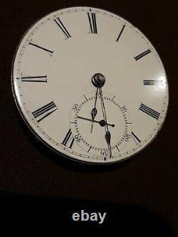 EARLY #1,585 Dennison Howard Davis MOVEMENT ONLY American Waltham pocket watch