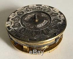 Early Verge fusee pocket watch movement