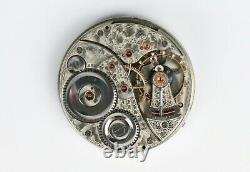 Elgin Grade 214 Pocket Watch 18S 23J Veritas 5Adj SN#9889614- Railroad Movement