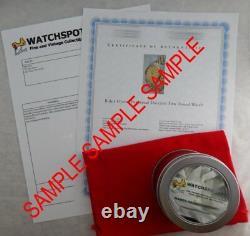 Elgin Size 0 Pocket Watch Movement Custom Hand Made Bronze 36mm Wrist Case 1902