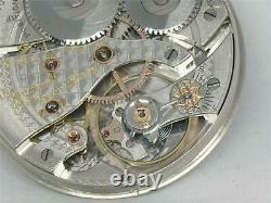 Excellent Waltham 23j Vanguard 1899 Model 16s Pocket Watch Movement, Running