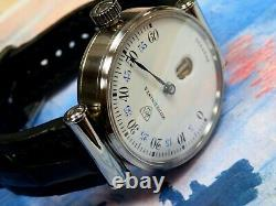 Extremely Rare hand-made watch with Modernista Pocket Watch Jump Hour movement