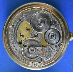 Fancy Gold Dial & Movement Mdl 1892 Waltham 18s P. S. Bartlett 17j Adjusted
