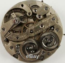 Fredric Huguenin Pocket Watch Movement Grade High-Grade- Spare Parts, Repair