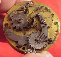 GAUDRON PARIS French EARLY REPEATER MOCK PENDULUM Movement 41MM Pocket Watch