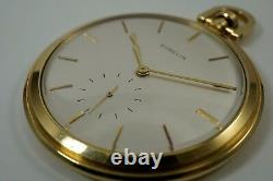 GUBELIN MASSIVE 56 MM POCKET WATCH MOVEMENT BY JAEGER LeCOULTRE ALL ORIGINAL