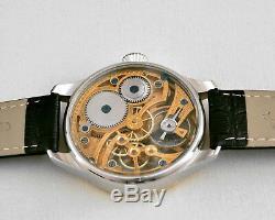Girard Perregaux MASONIC Maxi Skeleton Hand-Engraved Movement Pocket Watch 1910