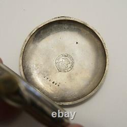 Girard Perregaux Pocket Watch High Grade 18 Lignes Movement As Is Circa 1901