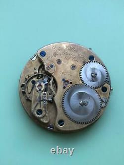 Glashütter Präzisions-Uhren-Fabrik Akt. Ges. Movement pocket watch 102754