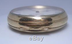Gold Plate Waltham pocket watch 17 jewel movement