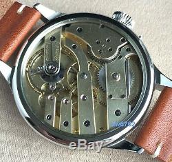H. Moser Marriage pocket watch movement
