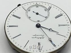 H R Ekegren 32.49 dia hi grade antique pocket watch movement Copenhagen Hunter
