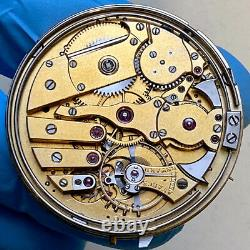 HIGH GRADE MINUTE REPEATER POSSIBLE PATEK PHILIPPE POCKET WATCH MOVEMENT 41mm