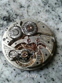 Hamilton 900. 19 jewels. High grade pocket watch movement