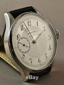 Hamilton 900 Wristwatch. Pocket watch movement conversion