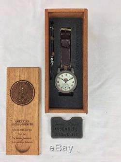 Harley-davidson Logo Vintage Pocket Watch Movement- New Vortic Wristwatch
