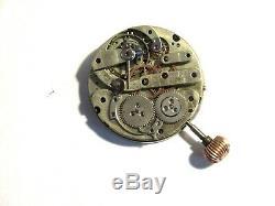 Henry Capt Chronograph Pocket Watch Movement