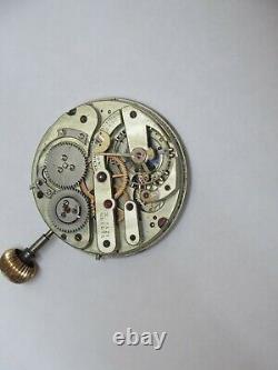 Hi-Grade Henry Capt Pocket Watch Movement
