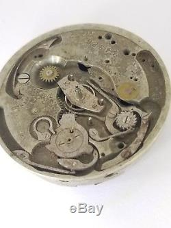 High Grade Chronograph Pocket Watch Movement for parts 43 mm unmarked F185