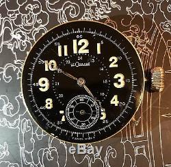 High Grade Chronometer Lecoultre Quarter Minute Repeater Pocket Watch Movement