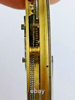 High Grade Fusee Up/Down Pocket Watch Movement by Thomas Peake, London (E31)