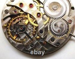 High Grade Jules Jurgensen Pocket Watch Movement perfect working 17 jewels K280