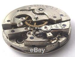 High Grade Longines Movement -Gold Medal Paris 1878- Protype, Rare Scape