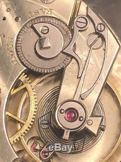 High Grade Louis Audemars for Caldwell pocket watch movement