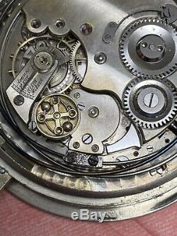 High Grade Quarter Repeater Pocket Watch Movement Large Size