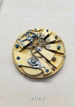 High Grade Swiss Key Wind Pocket Watch Movement