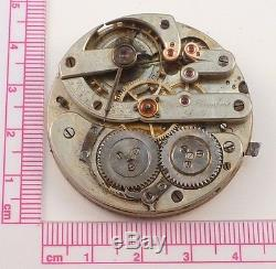 High-Grade Swiss Ulysse Humbert Locle Pocket Watch Movement