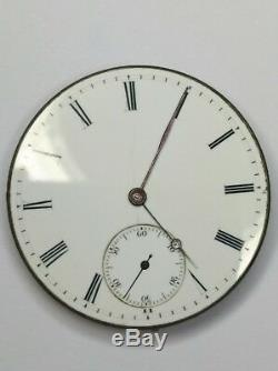 High Grade Vintage Patek Philippe Pocket Watch Movement Breguet Hand 34.5mm
