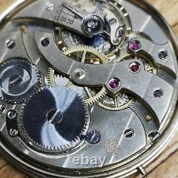 High Quality Henry Moser Pocket Watch Movement for Repair or Parts (E92)