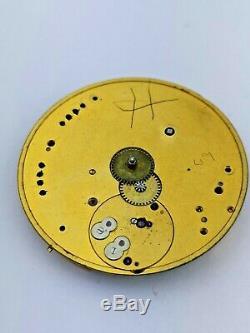 High Quality Nicole Nielsen Keyless English Pocket Watch Movement To Restore P53