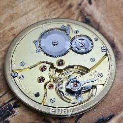 High Quality Working Zenith Vintage Pocket Watch Movement (E102)