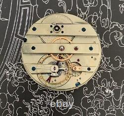 High grade Favre Et Endrie pocket watch movement 43 mm Original Dial And Hand