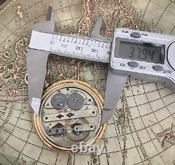 High grade Favre Leuba pocket watch movement 38 mm Working