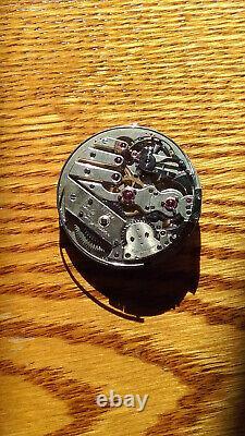 High grade Jules Jurgensen repeater chronograph pocket watch movement MB/DXCS