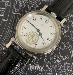 High grade Tiffany watch! Ed. Koehn Pocket Watch movement. Marriage watch 46 mm