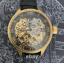 High grade V & C Skeleton pocket watch movement in new Marriage Watch case 56 mm