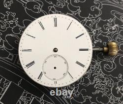 High grade edouard perregaux Detent /helical hairspring pocket watch movement