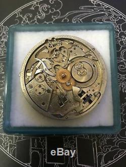 High grade jules jurgensen 5 minute repeater pocket watch movement 43 mm working