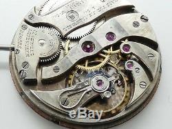 High grade pocket Agassiz Geneva 17 jewels watch werk movement working W713